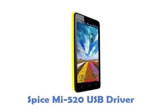 Spice Mi-520 USB Driver
