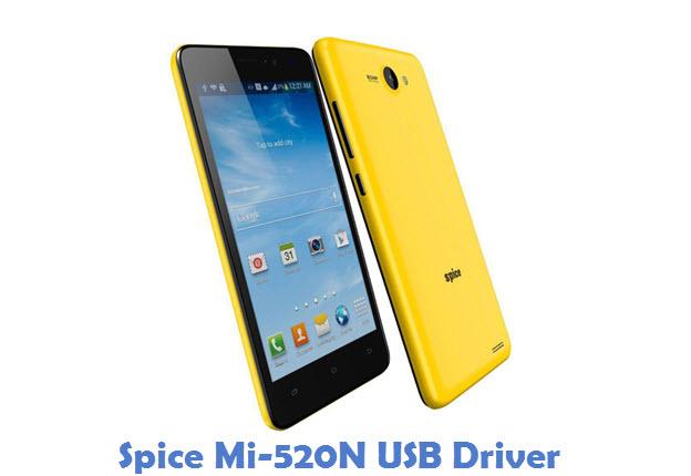 Spice Mi-520N USB Driver