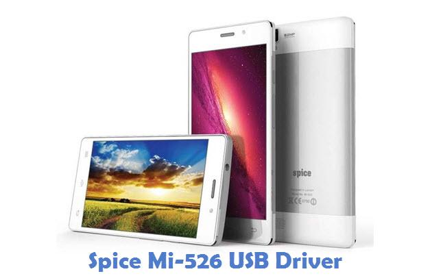 Spice Mi-526 USB Driver
