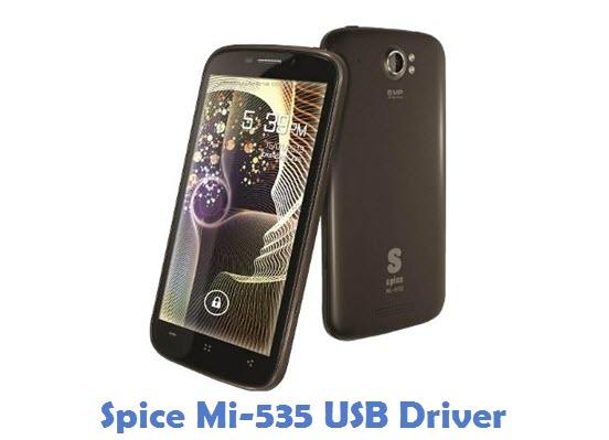Spice Mi-535 USB Driver