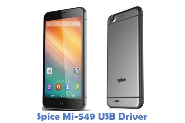 Spice Mi-549 USB Driver