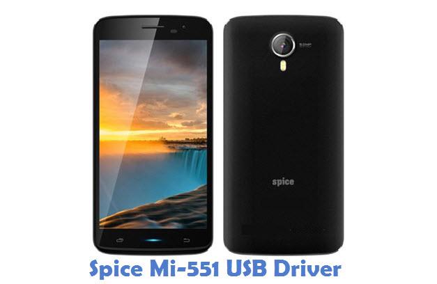 Spice Mi-551 USB Driver
