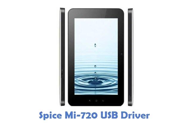 Spice Mi-720 USB Driver