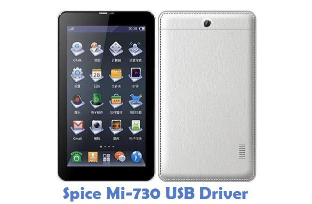 Spice Mi-730 USB Driver