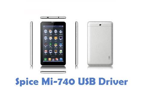 Spice Mi-740 USB Driver