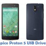 Spice Proton 5 USB Driver