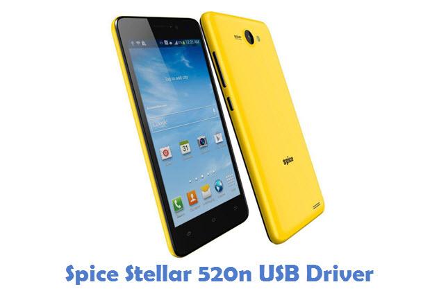 Spice Stellar 520n USB Driver