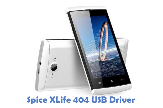 Spice XLife 404 USB Driver