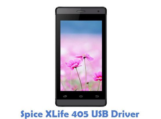 Spice XLife 405 USB Driver