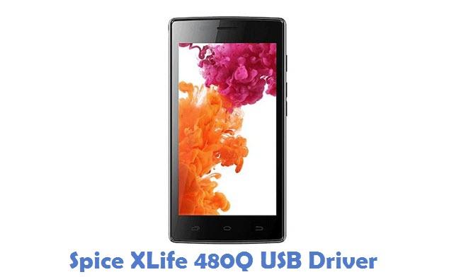 Spice XLife 480Q USB Driver