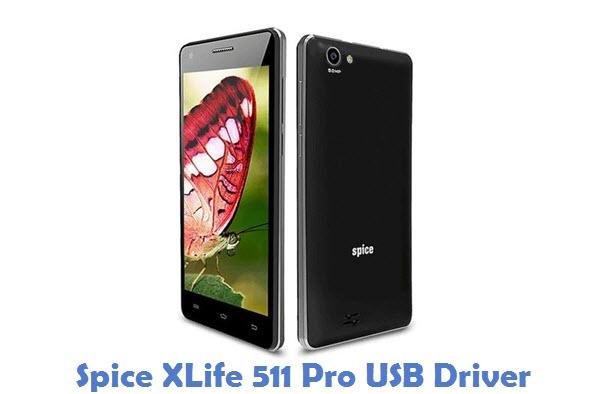 Spice XLife 511 Pro USB Driver