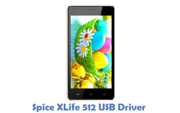 Spice XLife 512 USB Driver