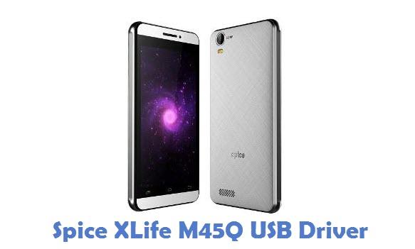 Spice XLife M45Q USB Driver
