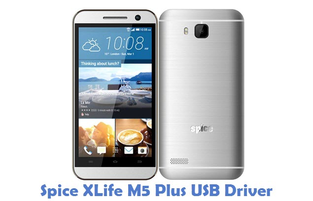 Spice XLife M5 Plus USB Driver