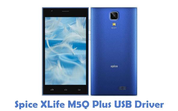 Spice XLife M5Q Plus USB Driver