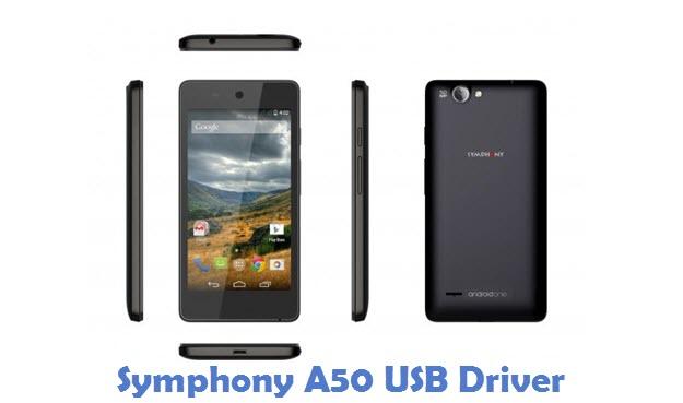 Symphony A50 USB Driver