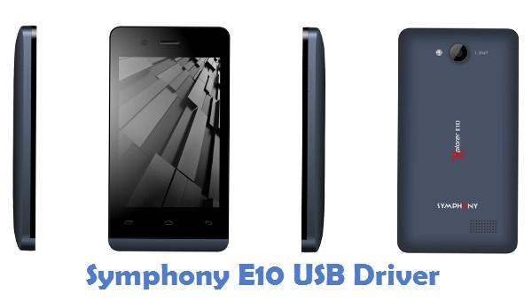 Symphony E10 USB Driver