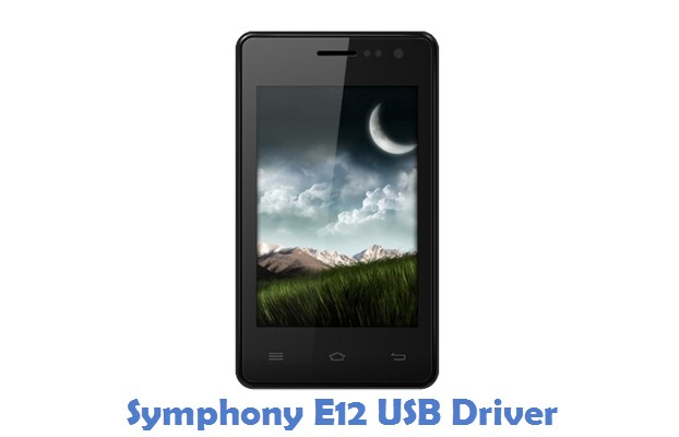 Symphony E12 USB Driver