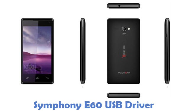 Symphony E60 USB Driver
