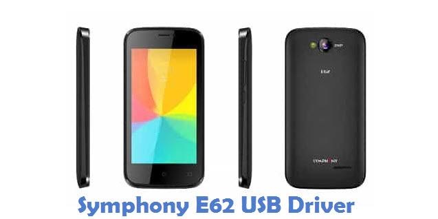 Symphony E62 USB Driver