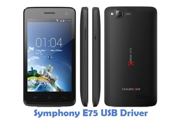 Symphony E75 USB Driver