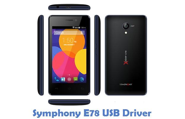Symphony E78 USB Driver