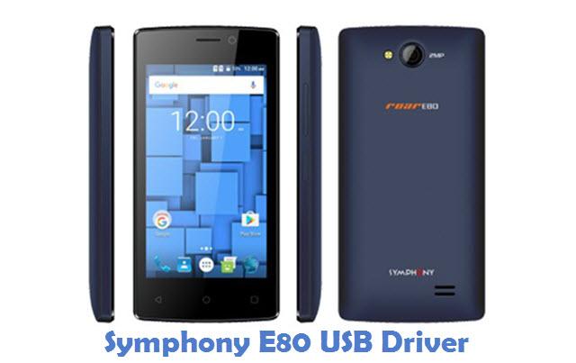 Symphony E80 USB Driver