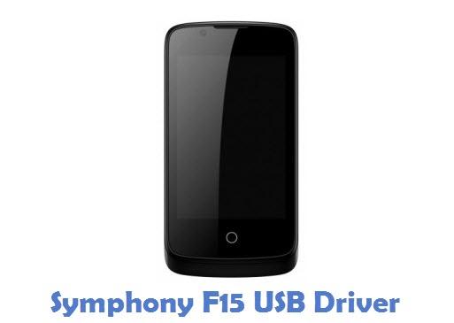 Symphony F15 USB Driver