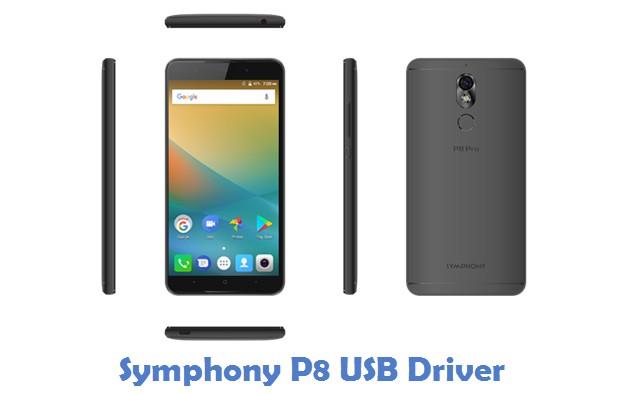 Symphony P8 USB Driver