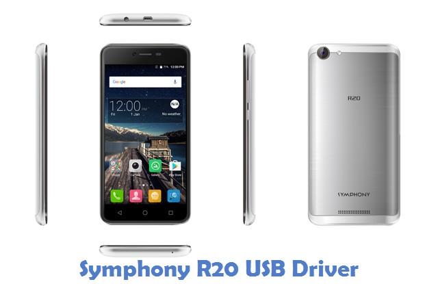 Symphony R20 USB Driver