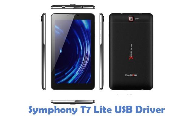 Symphony T7 Lite USB Driver