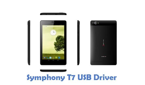 Symphony T7 USB Driver