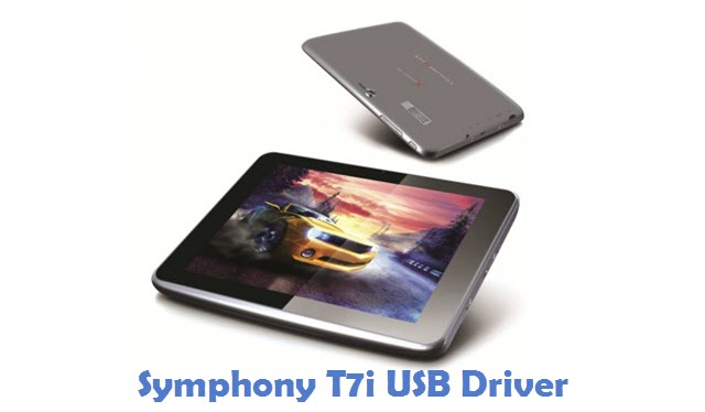 Symphony T7i USB Driver