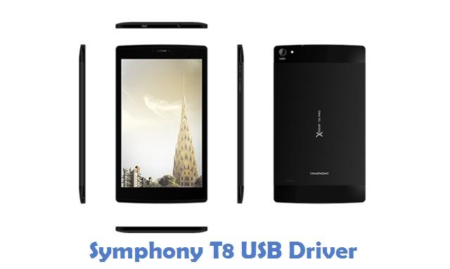 Symphony T8 USB Driver