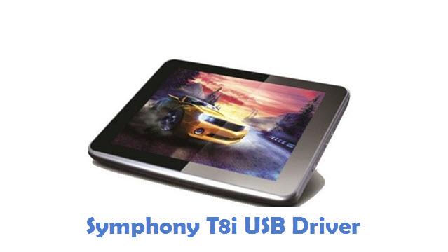 Symphony T8i USB Driver