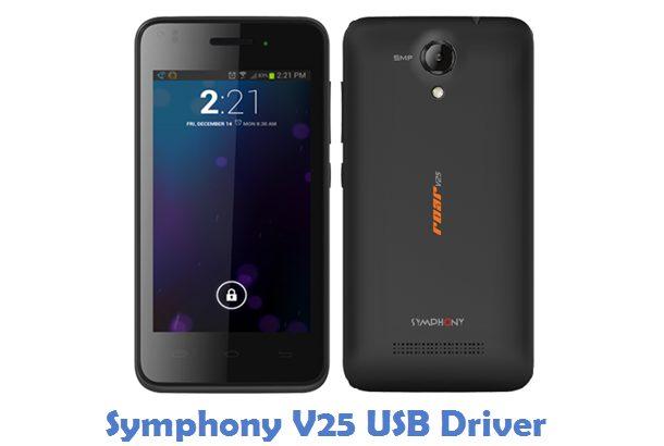 Symphony V25 USB Driver