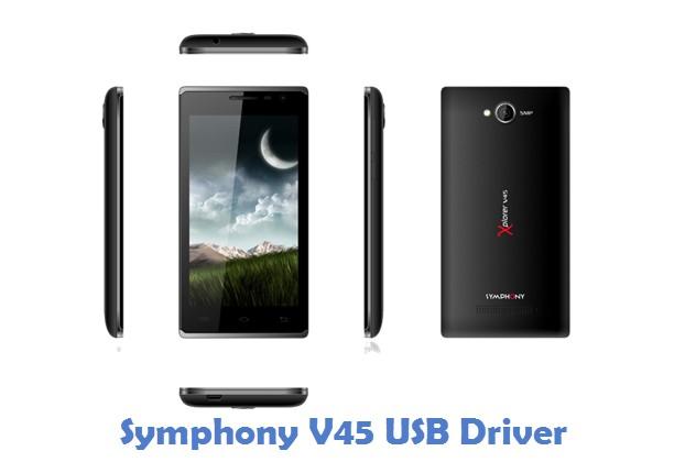 Symphony V45 USB Driver