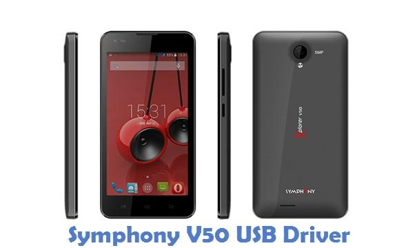 Symphony V50 USB Driver