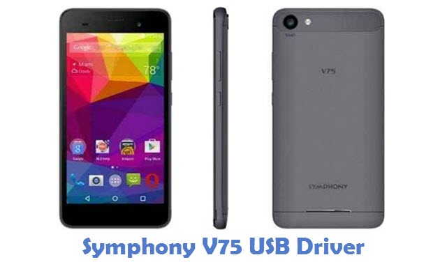 Symphony V75 USB Driver