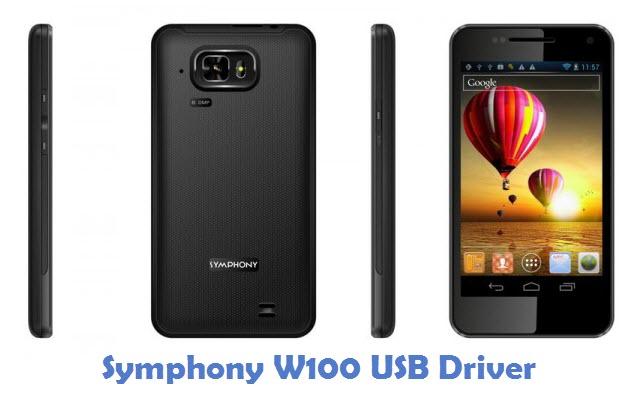 Symphony W100 USB Driver