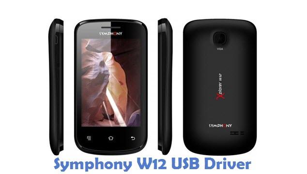 Symphony W12 USB Driver