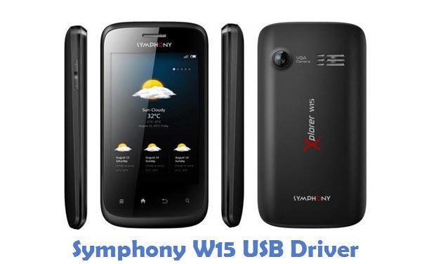 Symphony W15 USB Driver