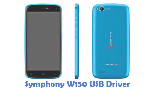 Symphony W150 USB Driver