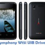 Symphony W15i USB Driver