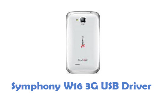 Symphony W16 3G USB Driver