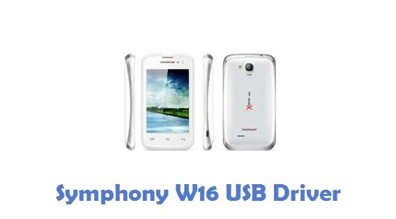 Symphony W16 USB Driver