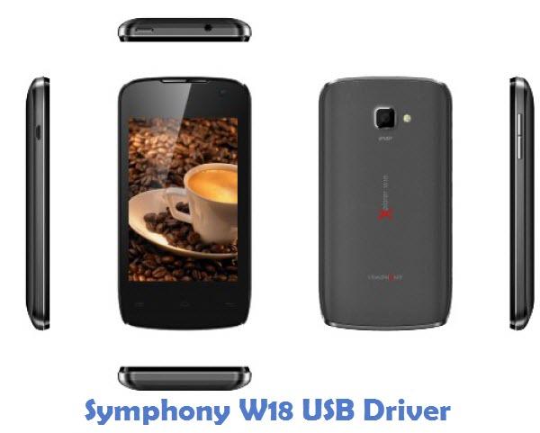 Symphony W18 USB Driver