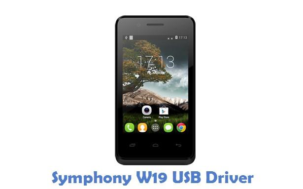Symphony W19 USB Driver