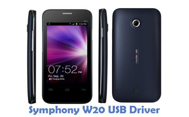 Symphony W20 USB Driver
