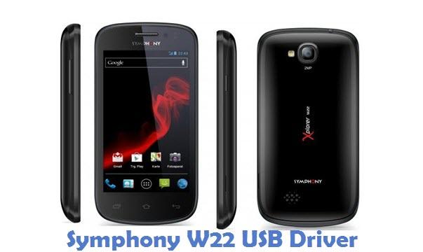 Symphony W22 USB Driver